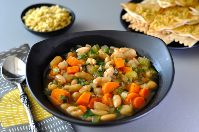 Cannellini beans bring tremendous flavor and high nutrition to this cannellini soup
