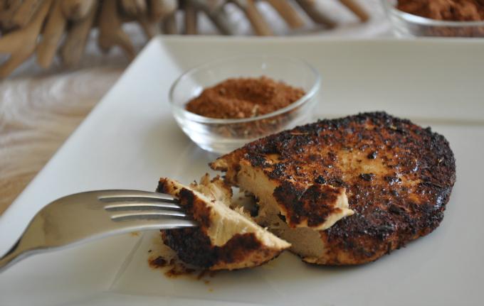 Cocoa & Spice Gardein Chicken Breasts
