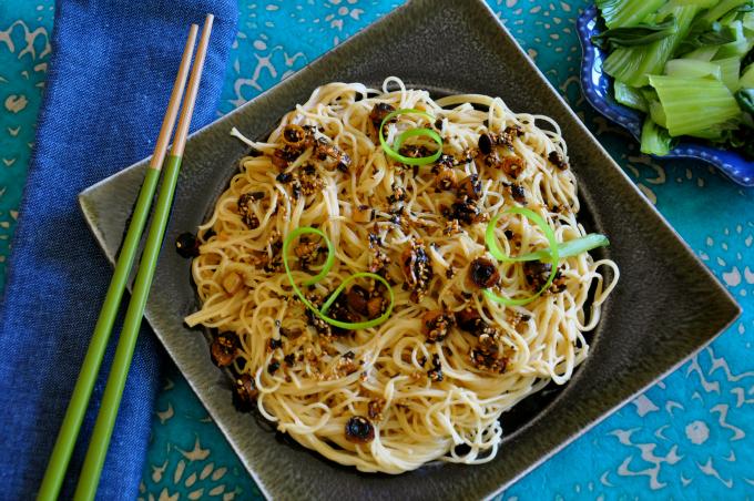 Hot Sesame Noodles