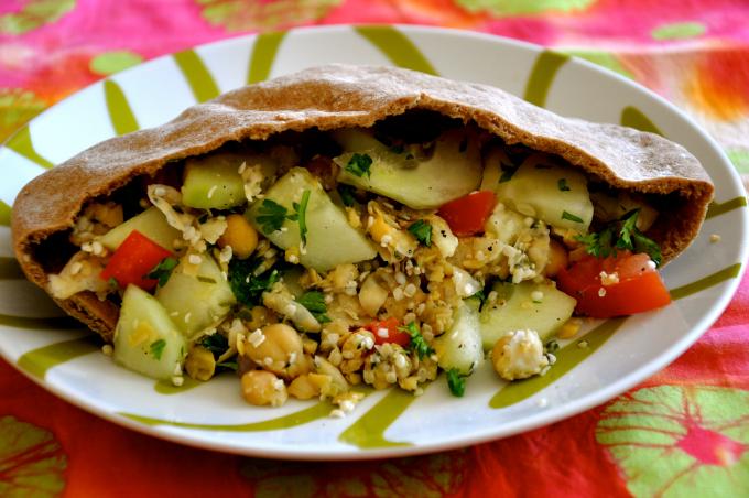 Hummus & Hemp Pita Pocket