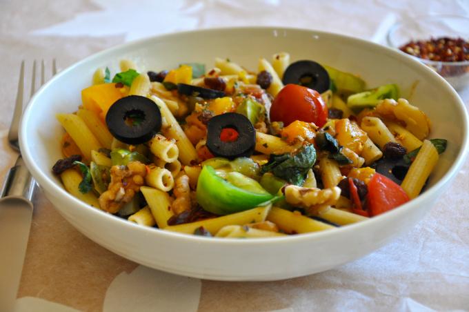 rustic Italian pasta