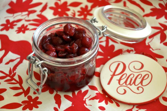 Pickled Cranberries