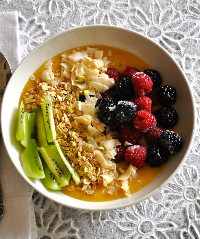 healthy vegan breakfast bowl