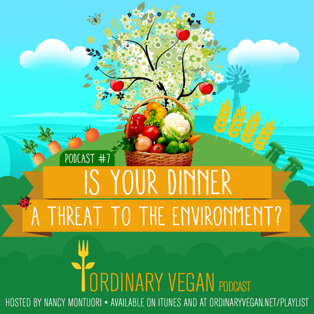 Is your dinner a threat to the environment? Learn more here. (#vegan) ordinaryvegan.net