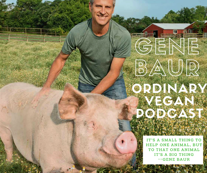 Gene Baur of Farm Sanctuary, gently pries our eyes open with his message of compassion & teaches us how to be an expression of what lives in our hearts. (#vegan) ordinaryvegan.net