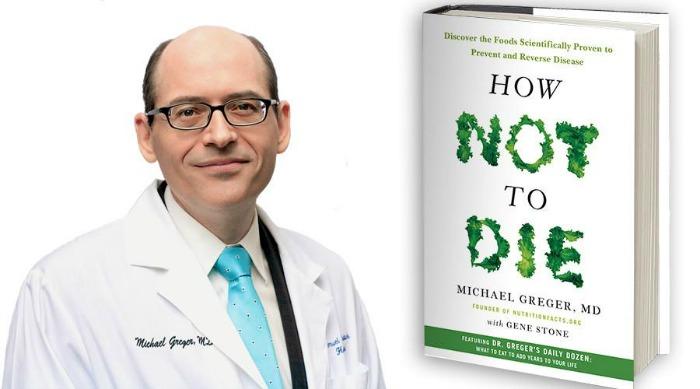 """An enlightening interview with Dr. Michael Greger on """"How Not To Die."""" (#vegan) ordinaryvegan.net"""