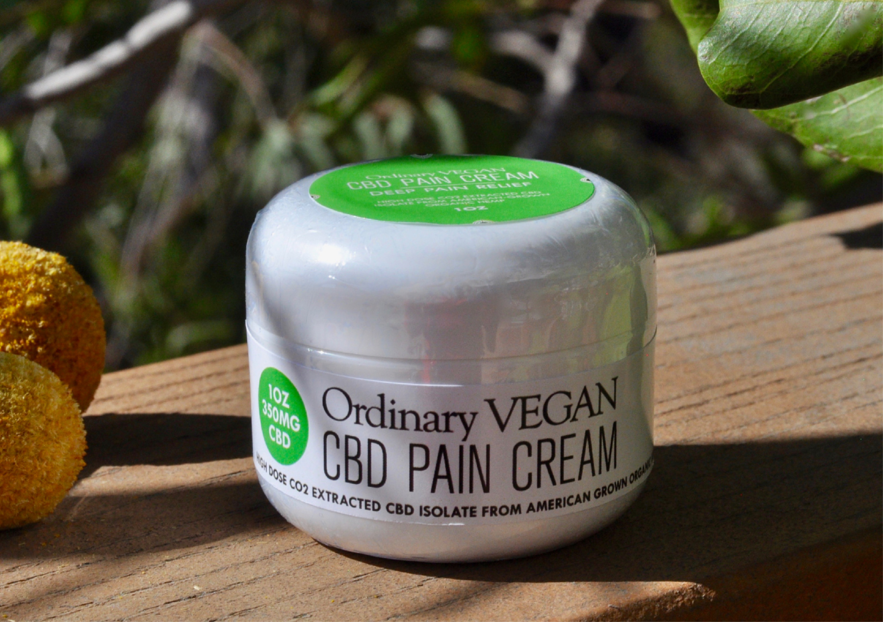 Are you in search for safer pain relief? Let the power of vegan CBD cream from organic hemp infuse your skin and penetrate deep seated pain. (#vegan) ordinaryvegan.net